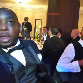 Maurice Sardison Jay Hastings PFA Awards 2017