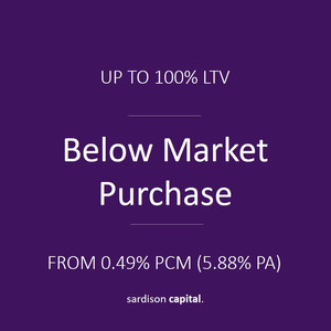 Below Market Purchase Loan | Sardison Capital