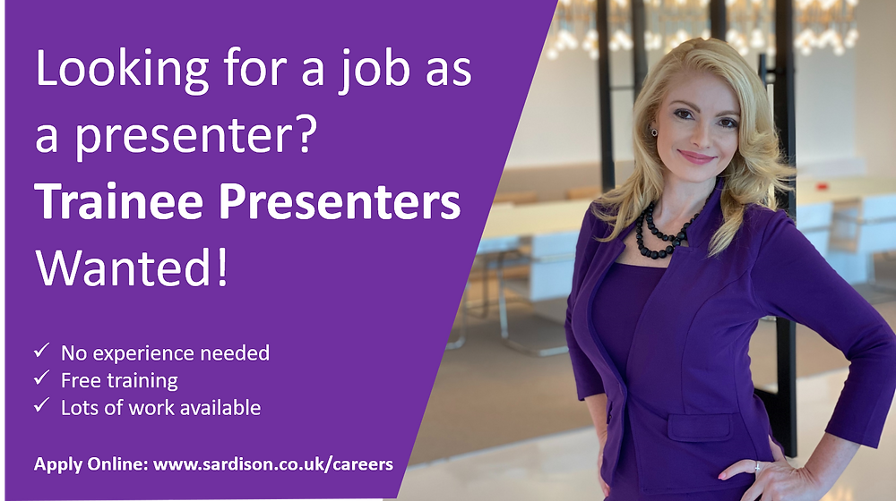 Become a Presenter with Sardison Capital today!