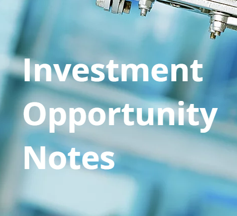 FREE Investment Opportunity Notes Template