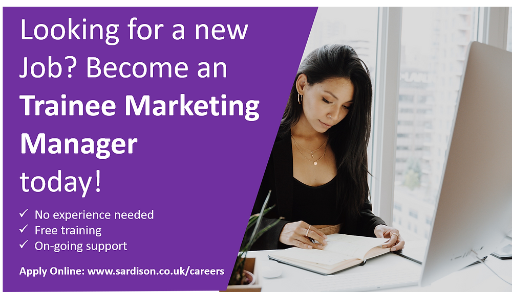Looking for a new challenge? We're recruiting Trainee Marketing Managers