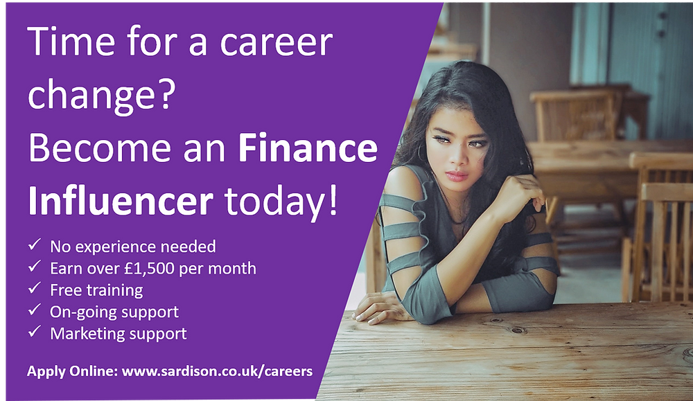 Become a Finance Influencer with Sardison Capital today!