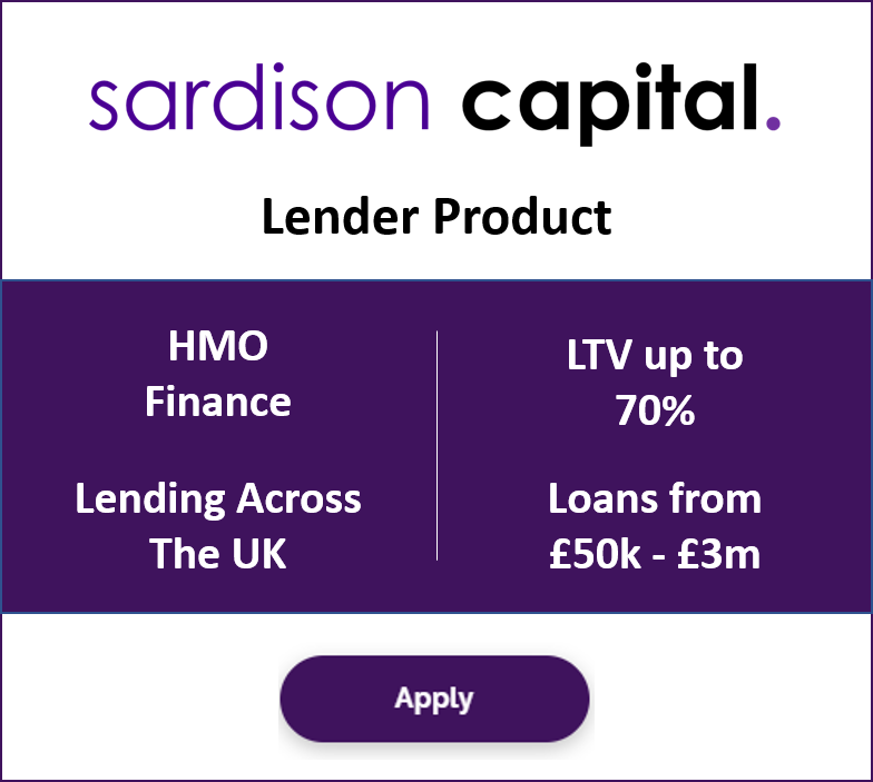 HMO Finance from £50,000 to £3 million