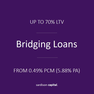 Bridging Finance | Sardison Capital