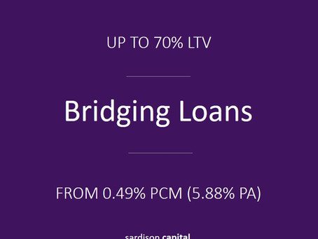Bridging Finance | Sardison Capital