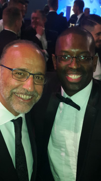Maurice Sardison and Theo Paphitis at PF