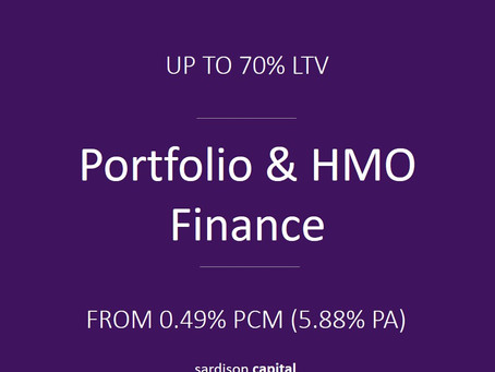 Portfolio & HMO Finance | Sardison Capital