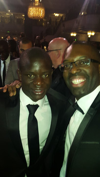 Maurice Sardison and N'Golo Kante at PFA