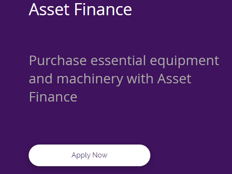 Asset Finance is still available to UK Businesses