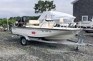 15' Boston Whaler 150 Montauk 2019