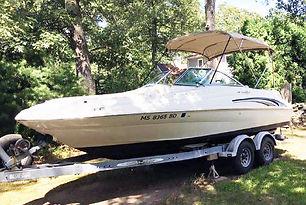 21' Sea Ray 210 Sundeck 2000