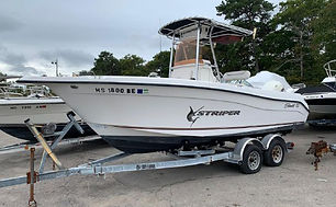 21' Seaswirl Striper 2101 CC O/B 2007