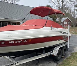 21' Sea Ray 200 Sundeck 2004