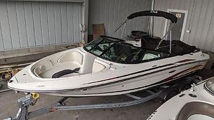 21' Sea Ray 205 Sport 2013