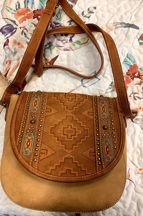 Brown Kensie Cross Bag