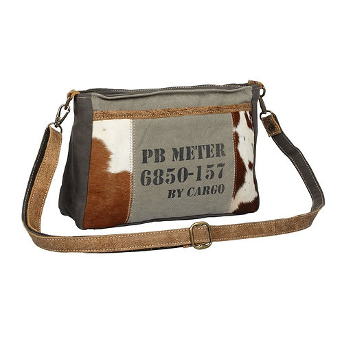 Dual Handle Stamp Small & Crossbody bag