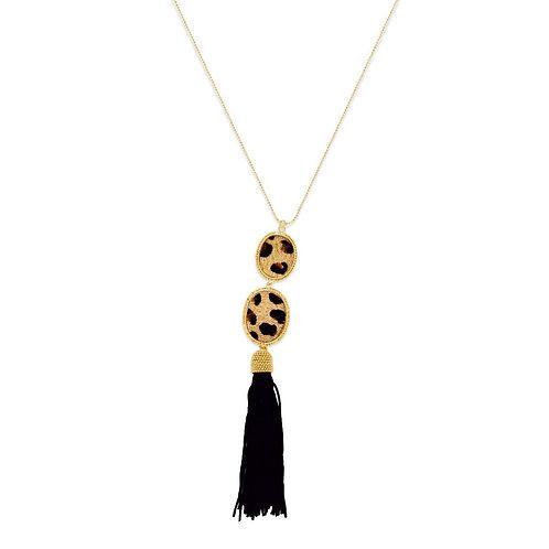Black Mushy Necklace