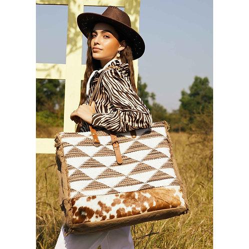 Rhythmic Shapes Weekender Bag