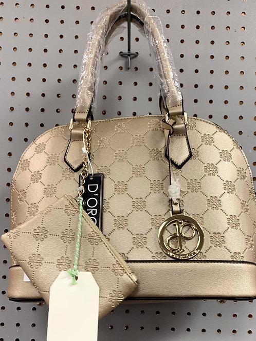 Metallic Gold Hand Bag