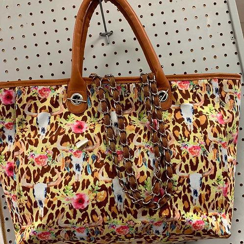 Multi Print Handbag