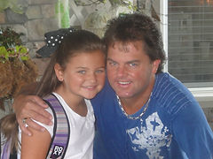 Clay and daughter Caroline