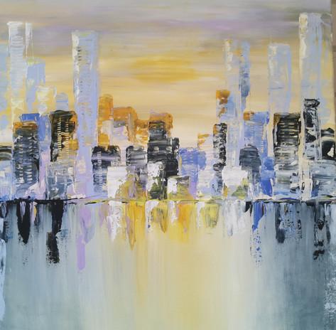 Skyline 55 x 55 cm 8000 NOK