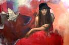 Out of tricks - 107 x 73 cm - 15000 NOK