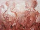 The two Graces 95 x 75 cm - 14000 NOK