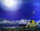 Moonlight - 100 x 130 cm - 25000 NOK