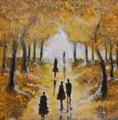 Autumn - 50 x 50 cm - 5000 NOK