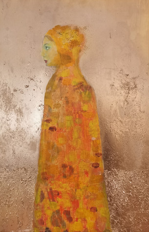 Golden Lady - 45 * 65 cm - 8000 NOK