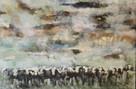 In the pasture - 110 * 75 cm - 15000 NOK