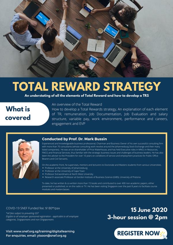 Total Reward Strategy