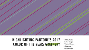 """Working with Tints and Shades for ELH #154 - Add a Little """"Greenery"""" with Pantone's Co"""