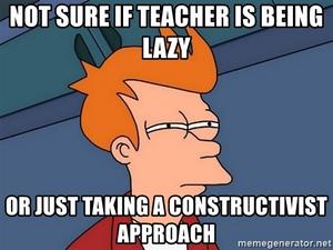 Constructionist approach meme