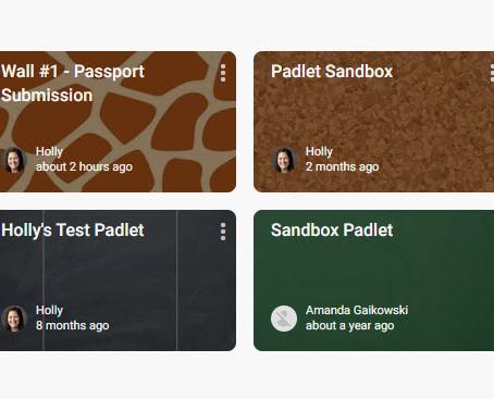 Learning New Tools: Padlet (take 2)