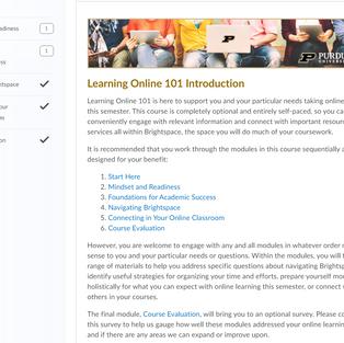 Online Learning 101 - Start Here