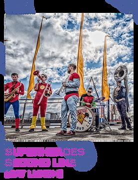 superheros second line