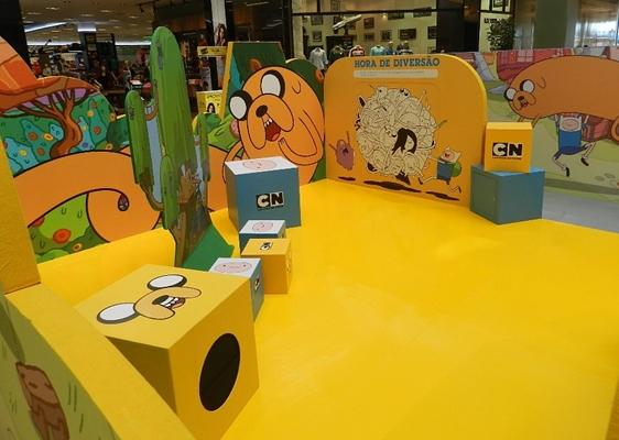 Cenário Toon City Cartoon Network
