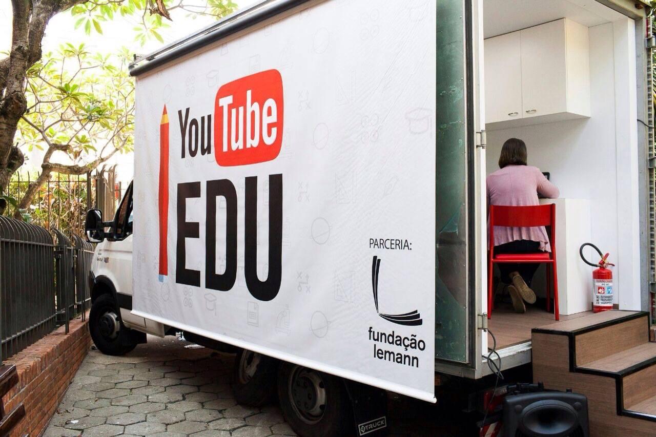 YouTube Edu e Fundação Lemann