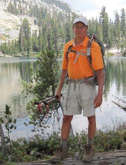 Hiking not hunting!