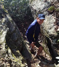 Rock hiking!