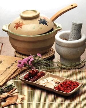 Herbal medicine pots, herbs, mortar and pestle for Sandy Springs, GA.