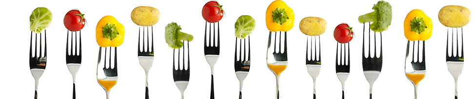 Healthy food forks