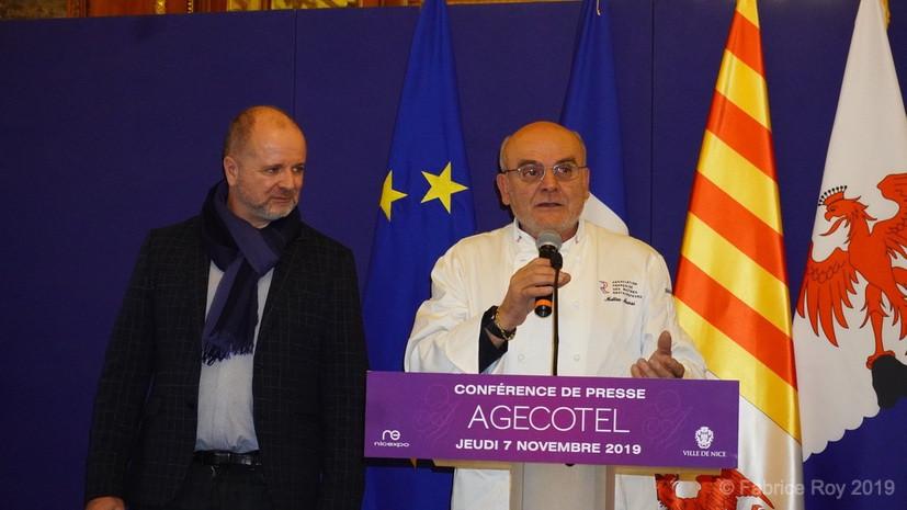 Alain Defils et Théo Mansi