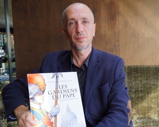 """Yvon Bertorello présente """"Les Gardiens du Pape"""""""