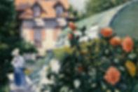 La serre du jardin de Gustave Caillebotte