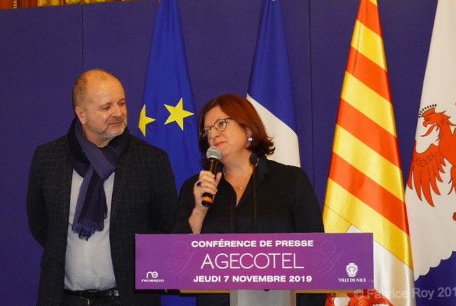 Alain Defils et Agnès Caso