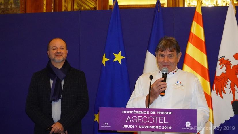 Alain Defils et Marcel Lesoille