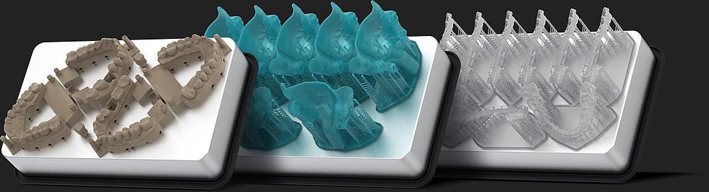Стоматологический 3D принтер SprintRay Pro пример печати